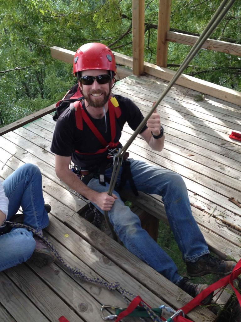 2015 Tree Climbing John Rappels